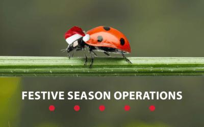 Festive Season Operations – 2020
